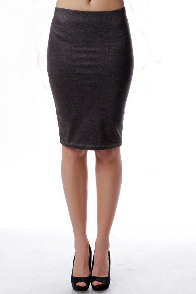 Pencil skirt  antracite