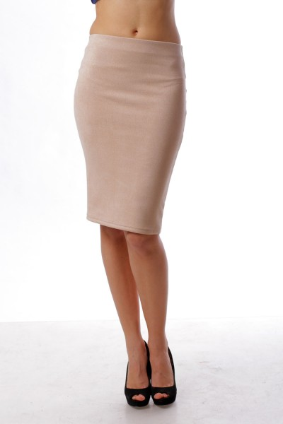 Pencil skirt   champagne