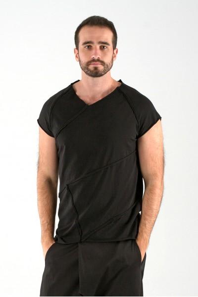футболка грави черная
