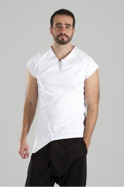 футболка грави белая