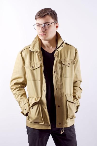 Куртка М65 хаки, демисезон