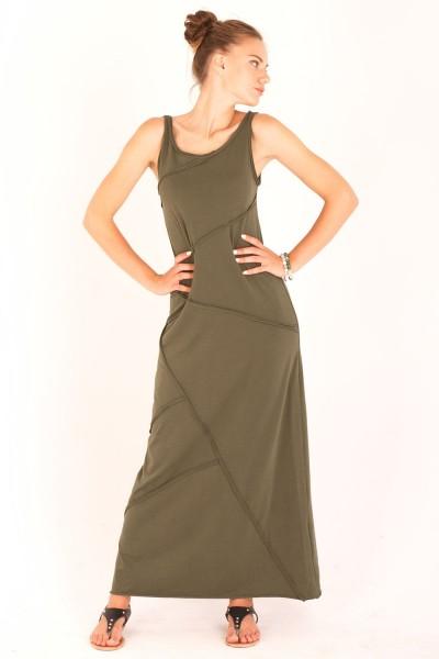 Платье грави хаки