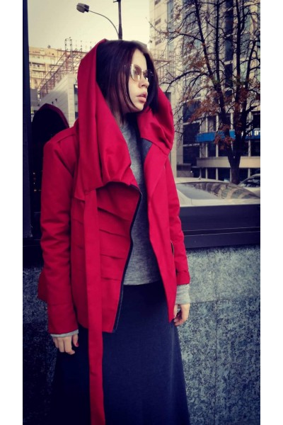 Jacket Dino red, winter