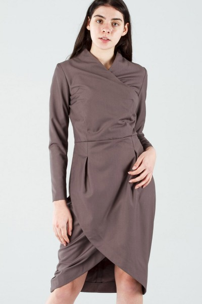 платье lеlea бежевое