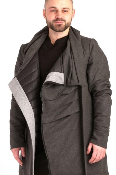 Куртка Dino серая, зимняя, мужская