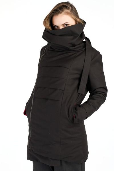 Куртка Dino черная, зимняя, женская