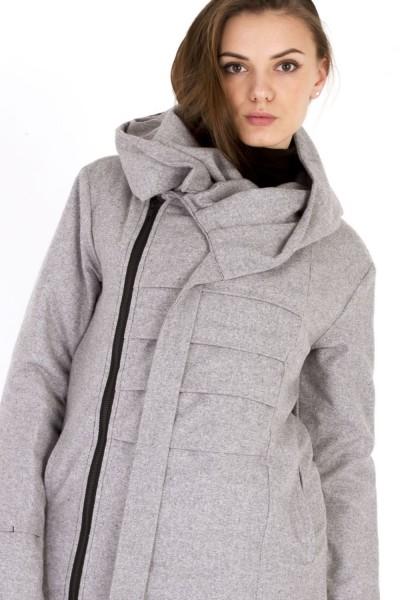 Куртка Dino серая , зимняя, женская