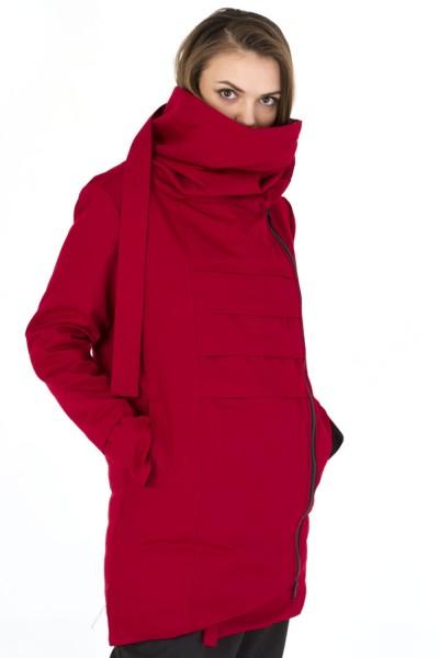 Куртка Dino красная, зимняя, женская