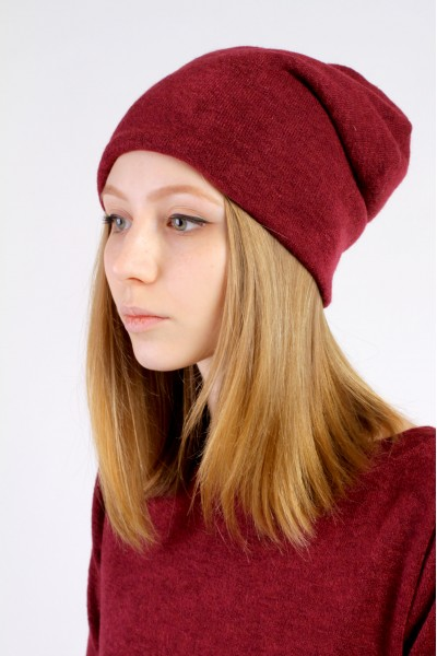 Winter grapes beanie hat