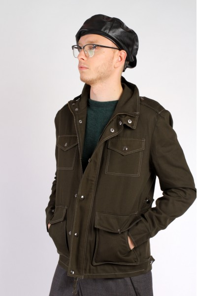 Куртка М65 темно-зеленая, демисезон