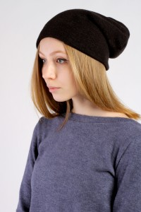 Winter Black beanie hat
