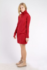 dress abito, red