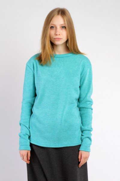 Sweater turquoise