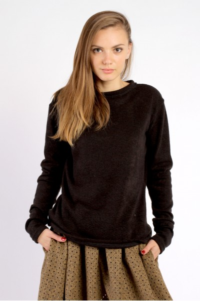 Sweater dark black