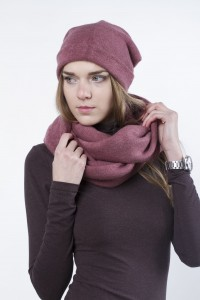 Scarf snood  pink