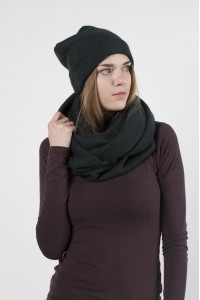 Scarf snood  green