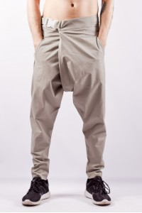 Pants with belt gravi,  beige