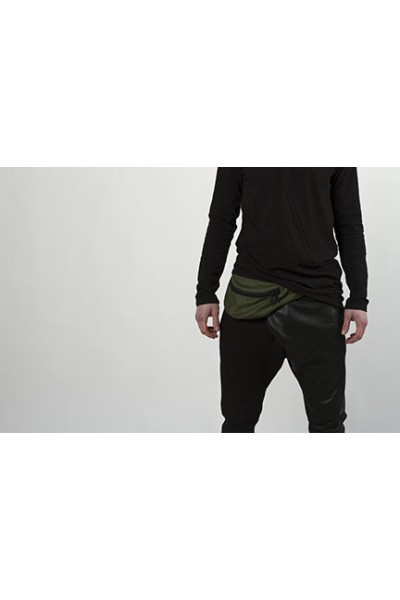 Waist bag dark green