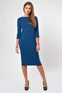 Dress blue, sleeve 3/4