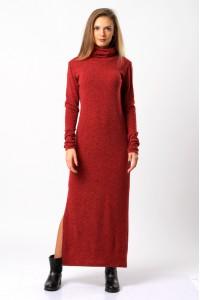 dress maxi red