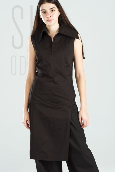 Tunic coleira black