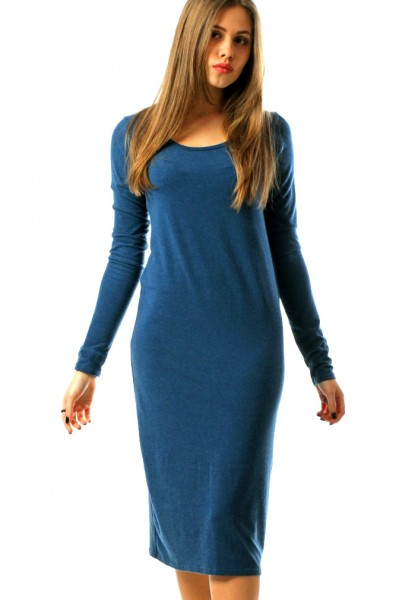 Dress blue, sleeve 4/4