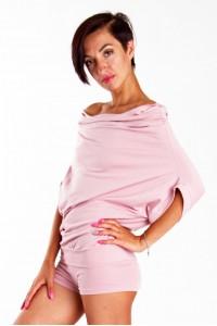 Кофта-платье Трансформер, розовое