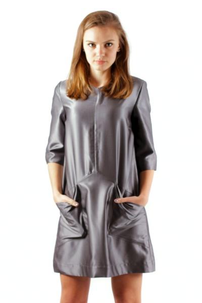 dress  A-Line, grey