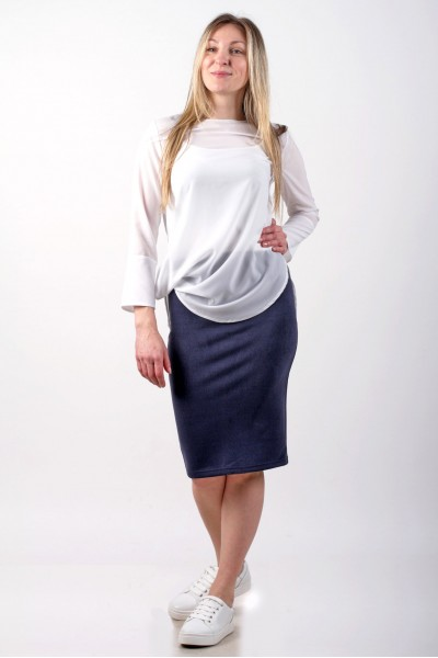 Blouse Leveza, white