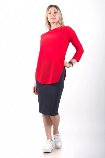 Блуза Leveza, коралловая