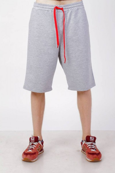 shorts men's light gray