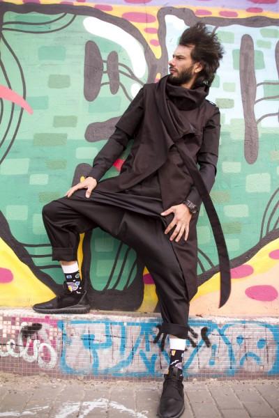 Комплект жилет+туника+брюки