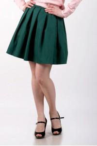 skirt sun green