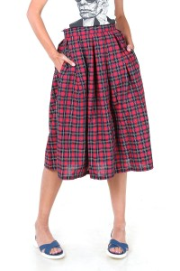 Skirt sun Scottish cage