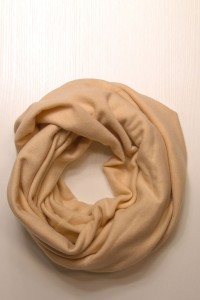 Scarf snood  beige winter
