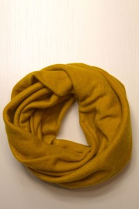 Scarf snood  mustard winter