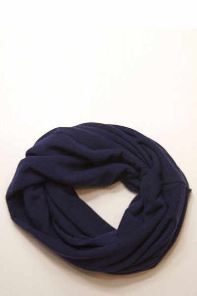 Scarf snood navi blue winter