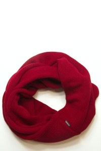 Scarf snood bordo, winter