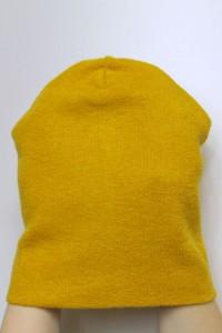 Winter  mustard beanie hat
