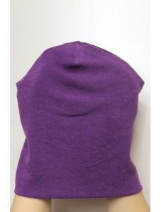 Шапка фиолетовая, зимняя