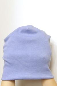 Winter blue beanie hat