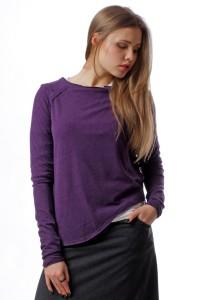 asymmetric jumper violet
