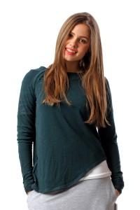 asymmetric jumper green