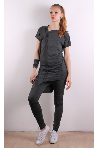 Tunic dark gray